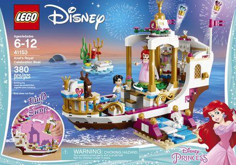 LEGO Disney Princess - Ariel's Royal Celebration Boat (41153) - image 5 of 6