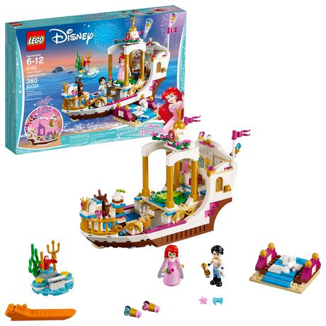 LEGO Disney Princess - Ariel's Royal Celebration Boat (41153) - image 1 of 6