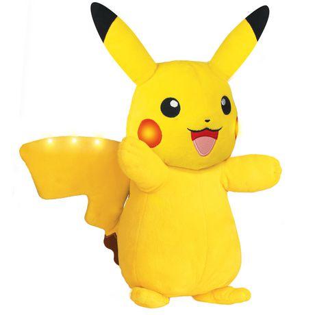 Pokémon Power Action Interactive Plush Pikachu - image 3 of 8