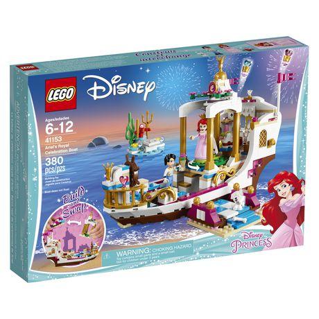 LEGO Disney Princess - Ariel's Royal Celebration Boat (41153) - image 2 of 6