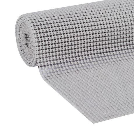 Revêtement pour étagères Easy Liner Select Grip de Duck Brand en gris clair - image 2 de 3