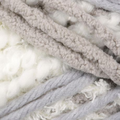 BERNAT HOME BUNDLE YARN (250G/8,8OZ), CREAM/GRAY - image 2 of 2