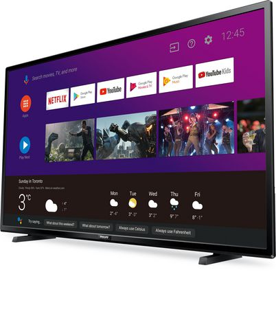 """Philips 43"""" 4K UHD HDR10 Android Smart TV with Google Assistant Built in, 43PFL5704/F7 - image 3 of 9"""