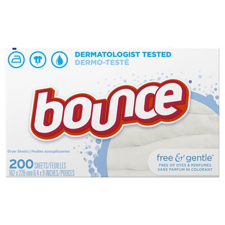 Bounce Fabric Softener On Baby Clothes