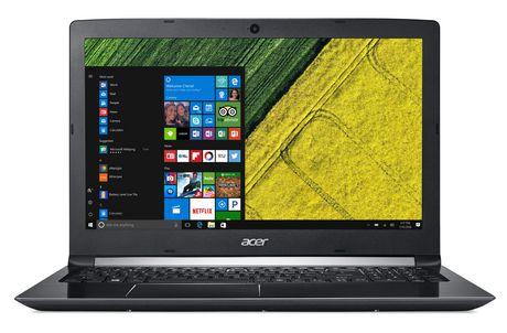 """Acer A515-51G-56T5 15.6 """"ordinateur portable, Core i5-8250U, NVIDIA GeForce MX150, 8 Go DDR4, 1 To de disque dur, Windows 10 Accueil, NX.GTCAA.002 - image 1 de 3"""