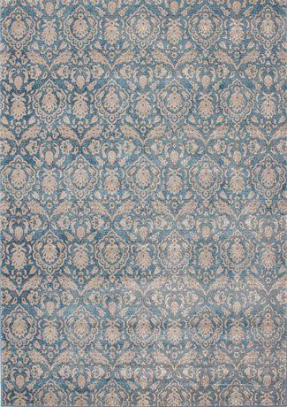EcarpetGallery Tapis Ziegler Bleu Clair Denim en Polypropylène - image 1 de 3