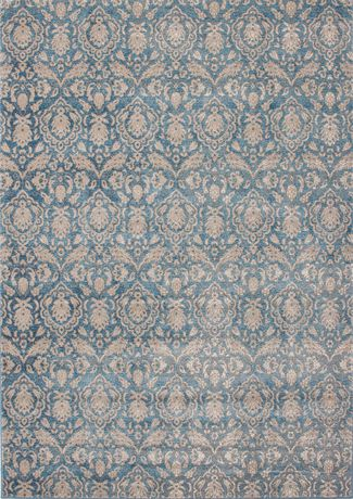 EcarpetGallery Tapis Ziegler Bleu Clair Denim en Polypropylène - image 3 de 3