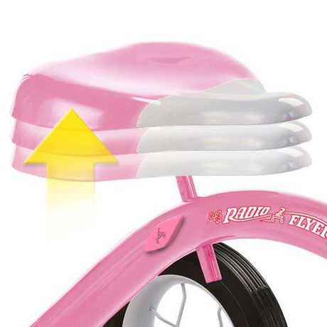 """Radio Flyer Girls Classic Pink 10"""" Tricycle w/ Push Handle™ - image 3 of 7"""