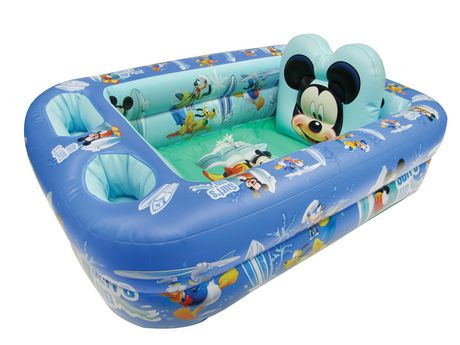 baignoire gonflable mickey de disney. Black Bedroom Furniture Sets. Home Design Ideas