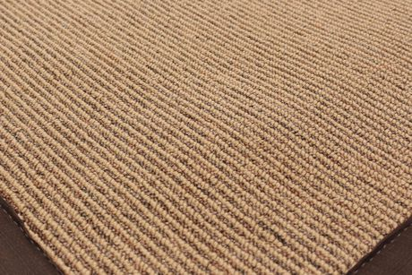 EcarpetGallery Sisal collection Brown Polypropylene Rug - image 3 of 4