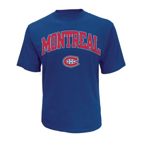 T-shirt classique Canadiens de Montréal de la LNH à encolure ras du cou et à manches courtes pour hommes - image 1 de 1