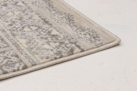 EcarpetGallery Impressions Cream Dark Grey Polypropylene Rug - image 2 of 5
