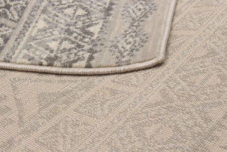 EcarpetGallery Impressions Cream Dark Grey Polypropylene Rug - image 3 of 5