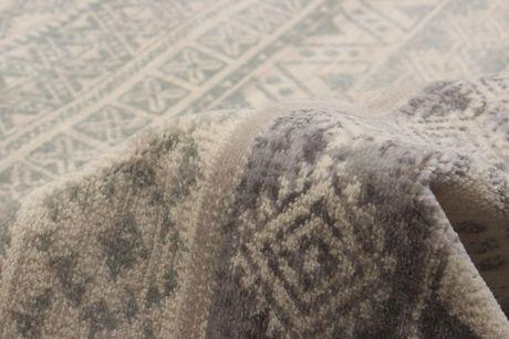 EcarpetGallery Impressions Cream Dark Grey Polypropylene Rug - image 4 of 5