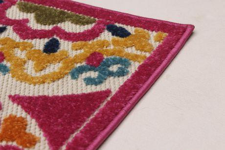 EcarpetGallery Verandah Dark Pink Polypropylene Rug - image 2 of 5