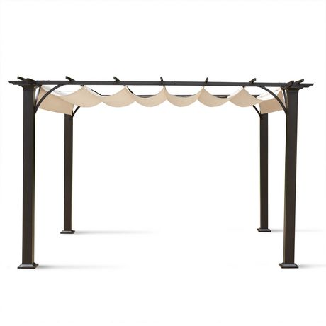 hometrends Retractable Shade Pergola - image 2 of 3