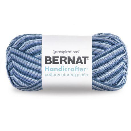 Bernat Handicrafter Cotton Ombres Yarn 340g 12 Oz Blue