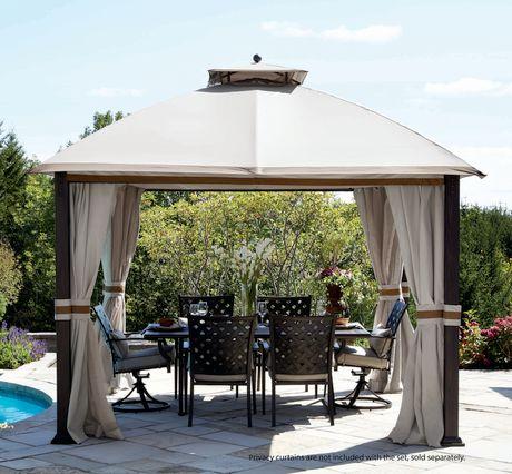 Abri de jardin carré à toit flexible Venise de hometrends | Walmart ...