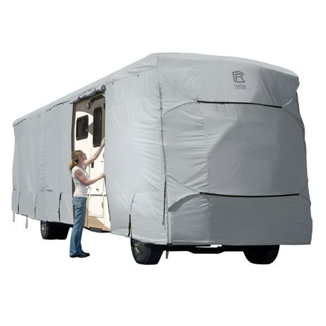 "Classic Accessories Permapro Class A Rv Cover, Fits 28' - 30'L 122"" MAX H - image 1 of 8"