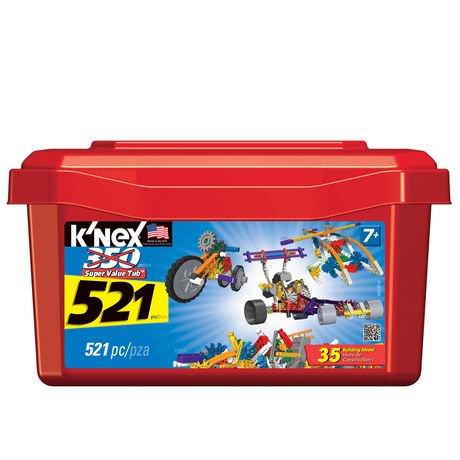 K Nex 521 Piece Value Tub Walmart Canada