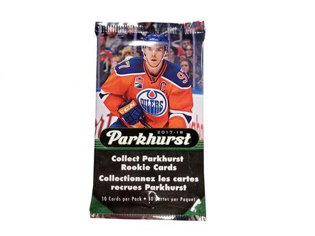 2017-2018 Upper Deck Parkhurst Hockey Value Box-English Only - image 2 of 3
