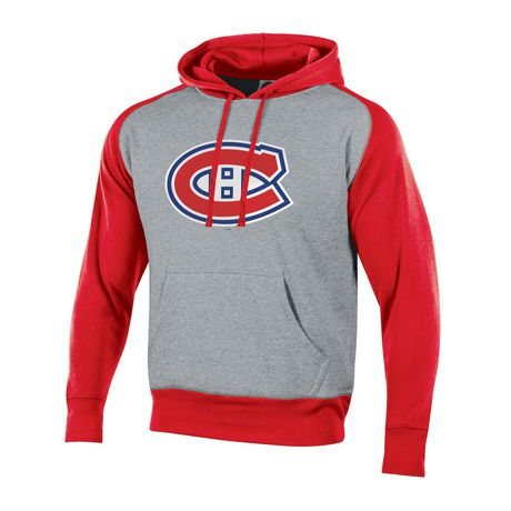 30221c66972 NHL Men s Montreal Canadiens Pullover Colourblock Hoodie