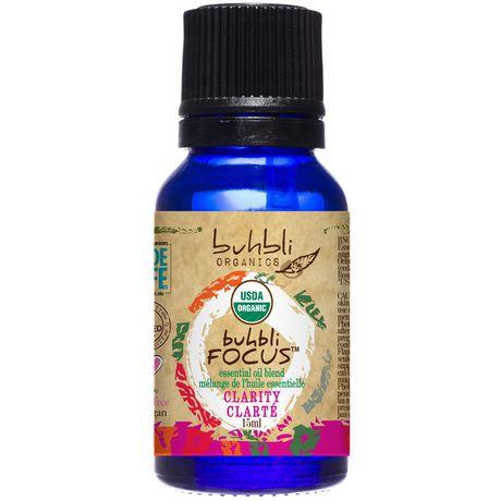 Buhbli Organics Focus Essential Oil Blend - image 1 of 2