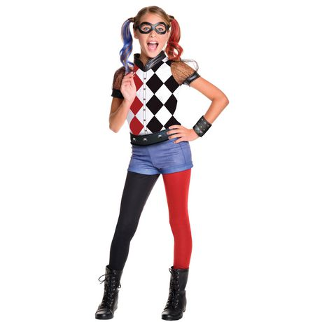 Rubie's Child DC: Harley Quinn Deluxe Costume - image 1 of 1