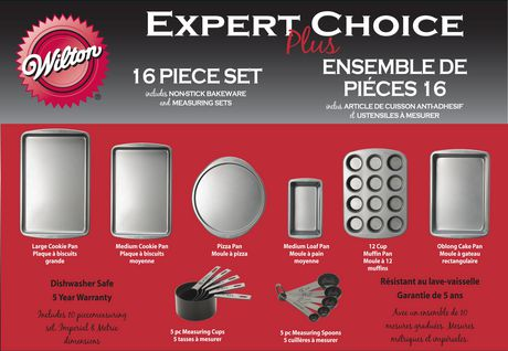 Wilton Expert Choice Plus 16-Piece Bakeware Set - image 1 of 9