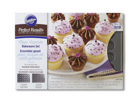 Wilton Perfect Results Mega Cupcake Set Walmart Canada