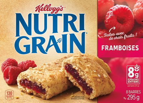 Kellogg's Nutri-Grain Cereal Bars 295g - Raspberry, 8 Bars - image 2 of 5