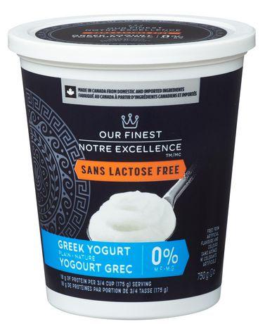 Our Finest Plain Lactose Free Greek Yogurt - image 1 of 1