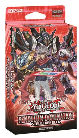yu gi oh pendulum domination structure deck trading card game