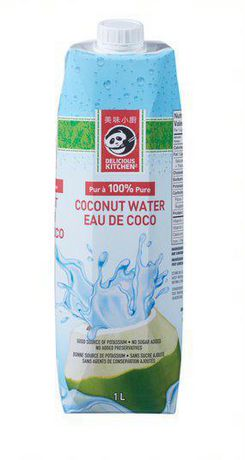 Delicious Kitchen 100% Pure Coconut Water - image 1 of 2