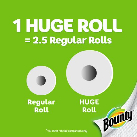 Bounty® Select-A-Size™ Paper Towels, White - image 3 of 6