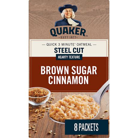 quaker steel Enjoy a heartier taste and texture quaker quick cook steel cut oats are 100%  whole grain oats that have been expertly cut to preserve their hearty texture and.