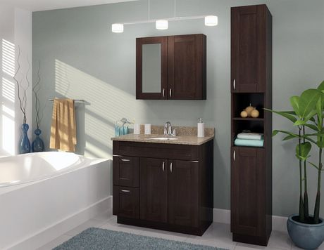Fabritec 84 Quot Kentia Linen Cabinet With Open Shelf