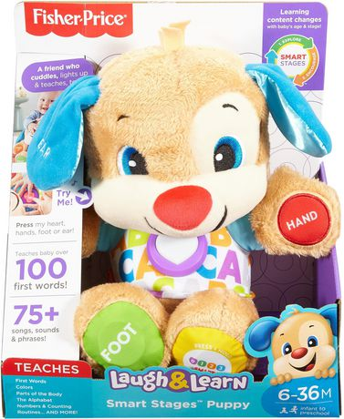 Fisher-Price Laugh & Learn Smart Stages Puppy - English Edition - image 9 of 9