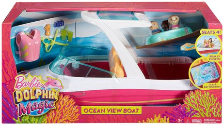 Barbie Dolphin Magic Ocean View Boat