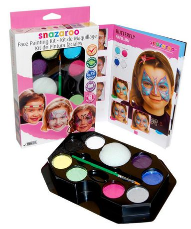 Snazaroo face painting kit for Walmart arts and crafts paint