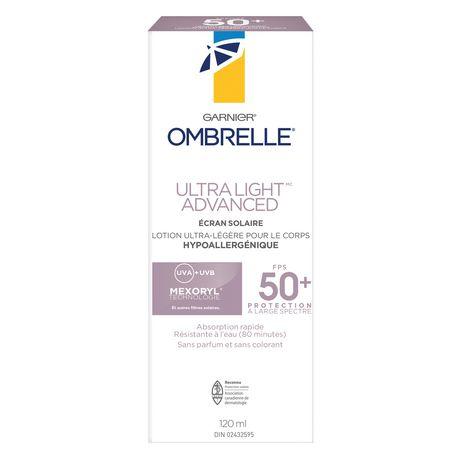 Garnier Ombrelle Complete Ultra-Light Advanced Body Lotion SPF 50+ - image 3 of 6