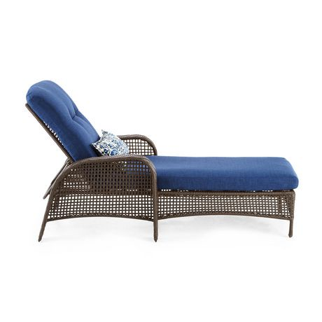 Hometrends tuscany chaise lounge walmart canada for Chaise lounge at walmart