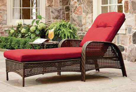 hometrends Tuscany Chaise Lounge - image 1 of 9