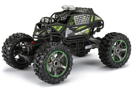 New Bright 1:10 RC Trail Buster Radio Control Vehicle - Green