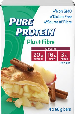 Pure Protein Apple Pie PLUS Bars - image 1 of 3