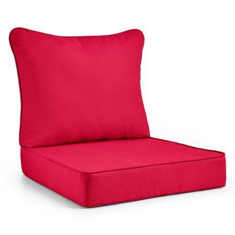 Coussin de luxe hometrends pour siège profond - image 1 de 2