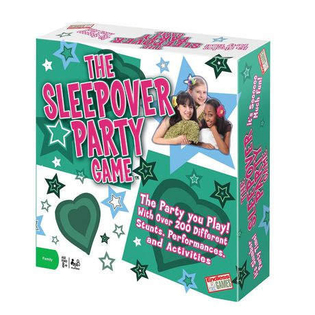 Endless Games The Sleep over Party Game (english Only) - image 1 of 1