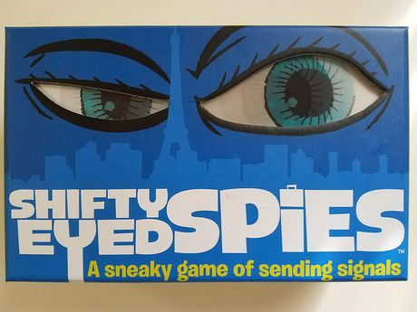 Big G Creative Shifty Eyed Spies - A Sneaky Game of Sending Signals (english Only) - image 1 of 1