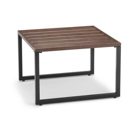 Grande table basse en acier hometrends pour l'extérieur