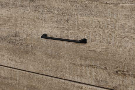 Commode à 4 tiroirs Valet de South Shore en chêne vieilli et ébène - image 5 de 8